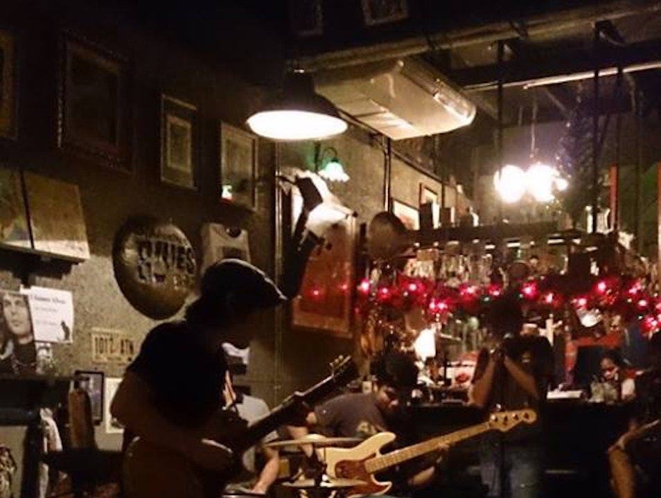Get Gritty at Bangkok's Best Music Bar Bangkok  Thailand