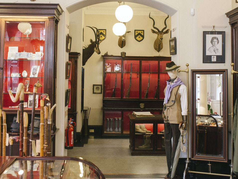 Explore a Famous Gunmaker's Shop in Mayfair London  United Kingdom