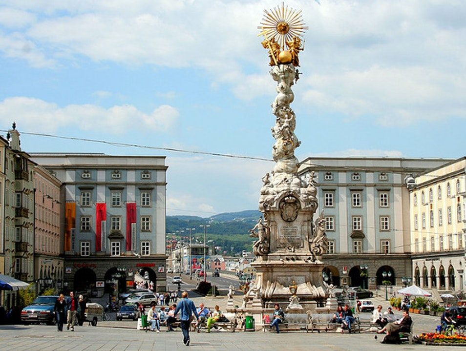 The Main Square in Linz