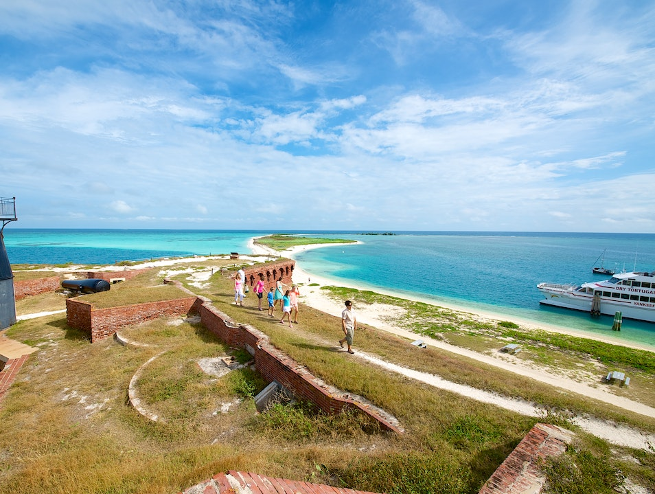 Take a Trip on the Dry Tortugas Yankee Freedom Ferry!  Florida United States