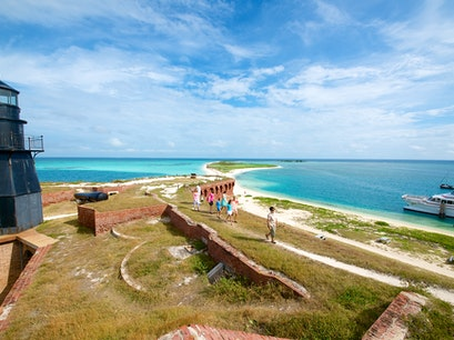 Dry Tortugas National Park Ferry - the Yankee Freedom III Key West Florida United States