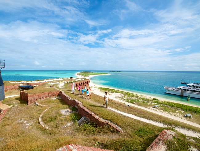 Take a Trip on the Dry Tortugas Yankee Freedom Ferry!