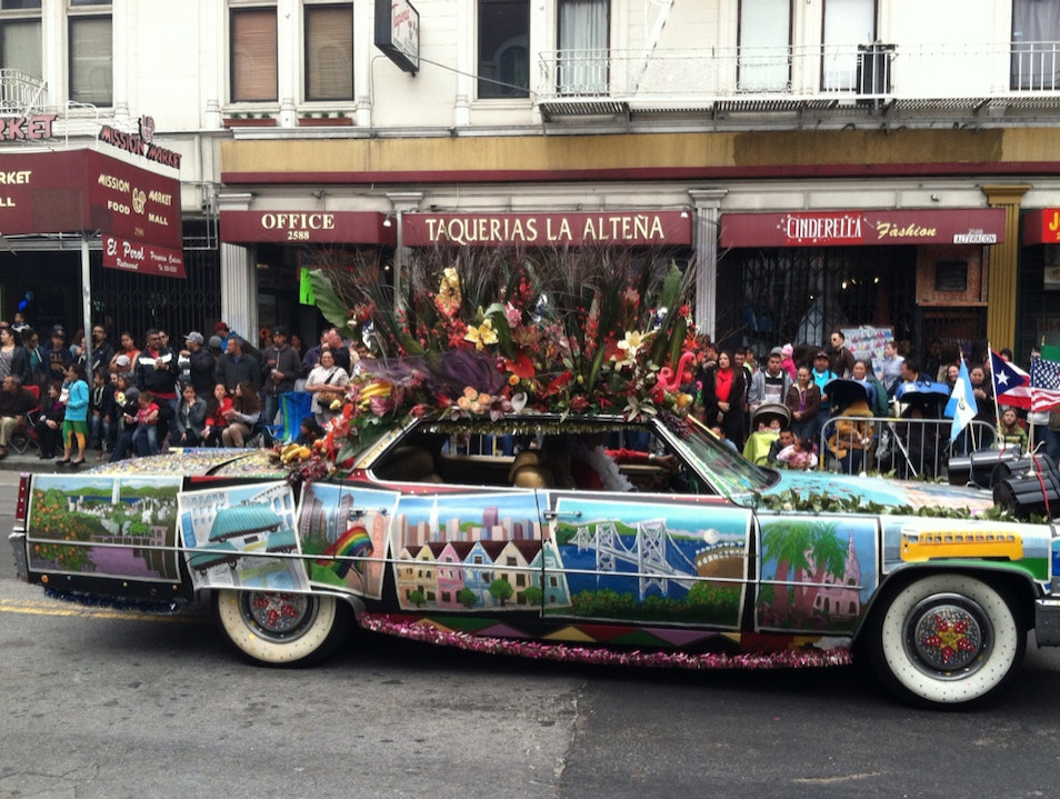 Carnaval In The Mission San Francisco California United States