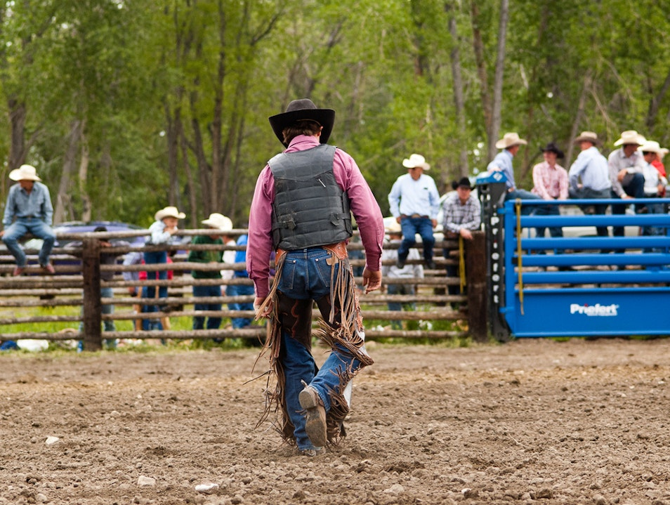 Wyoming Rodeo Greybull Wyoming United States