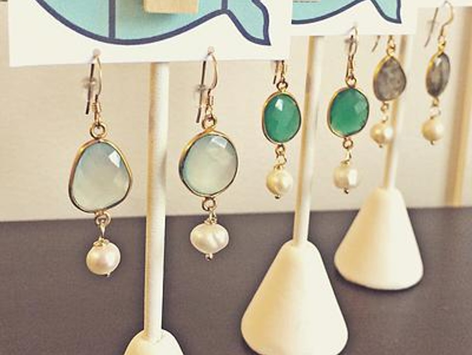 Handcrafted beach chic jewelry