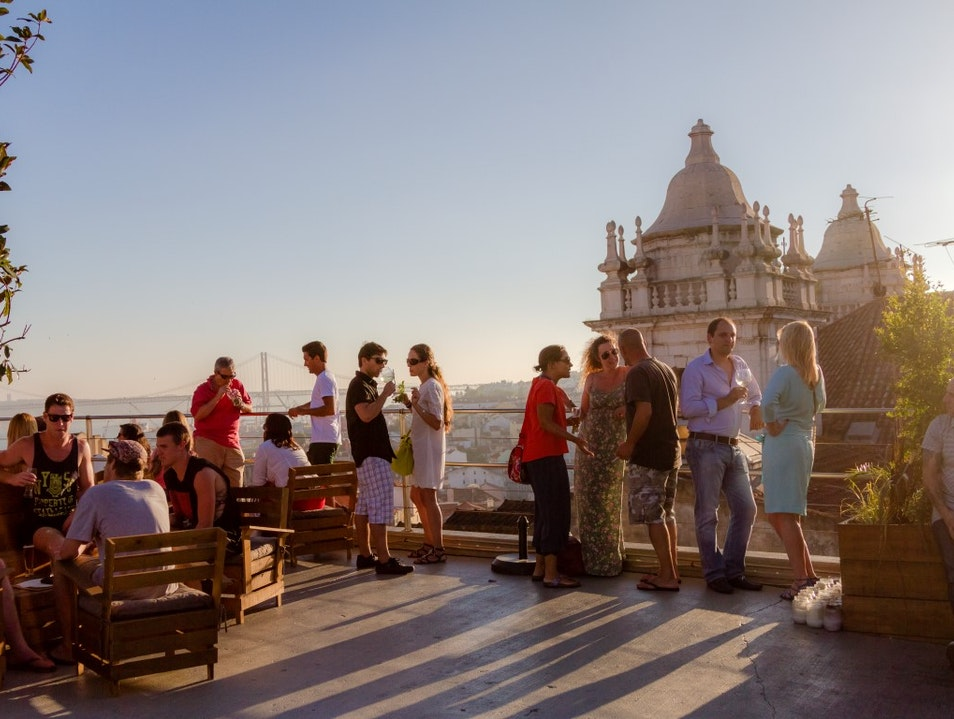 A rooftop bar with its own personality Lisbon  Portugal