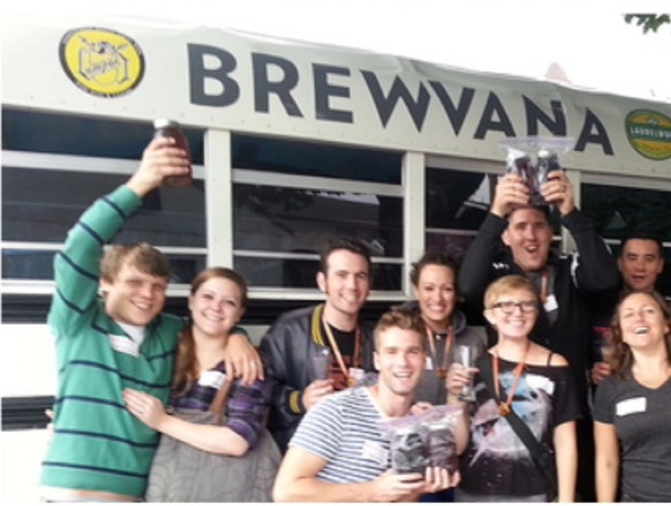 Busload of Beer Estacada Oregon United States