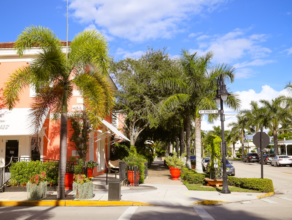 Third Street South: The New Place to Be in Naples  Naples Florida United States