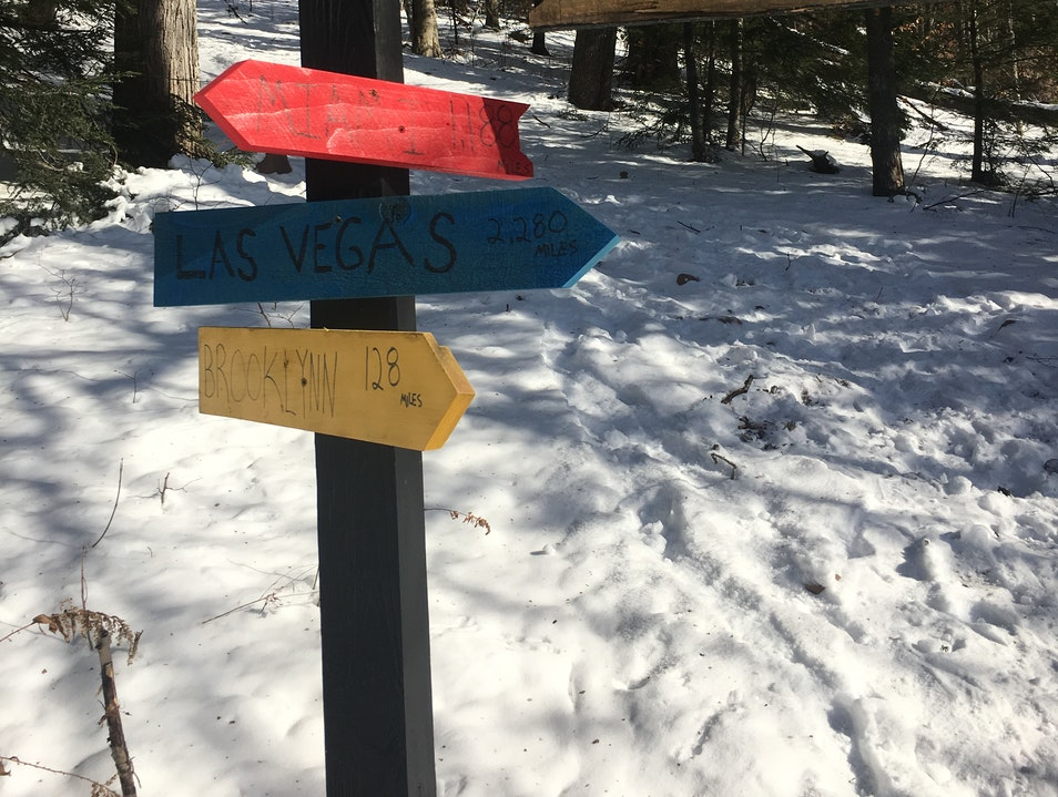 Family friendly hiking Tannersville New York United States