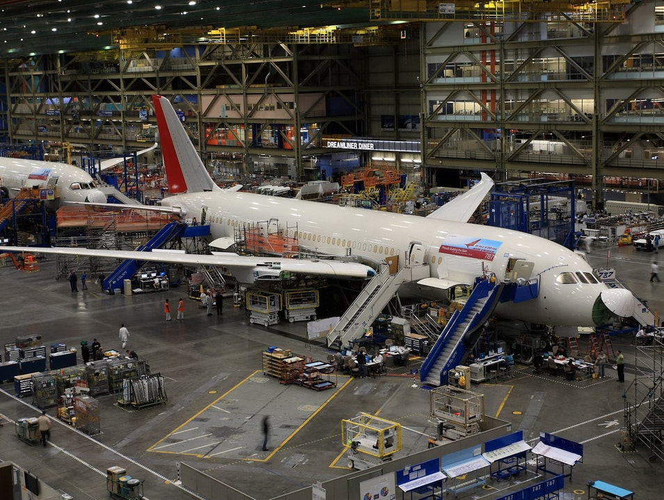Future of Flight Aviation Center and Boeing Factory Tour