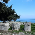 Thera Archaeological Site Thira  Greece