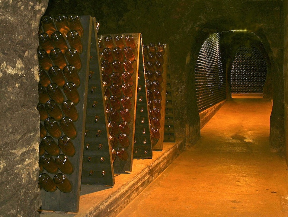 Tour the Oldest Caves in Napa at Schramsberg Vineyards Calistoga California United States