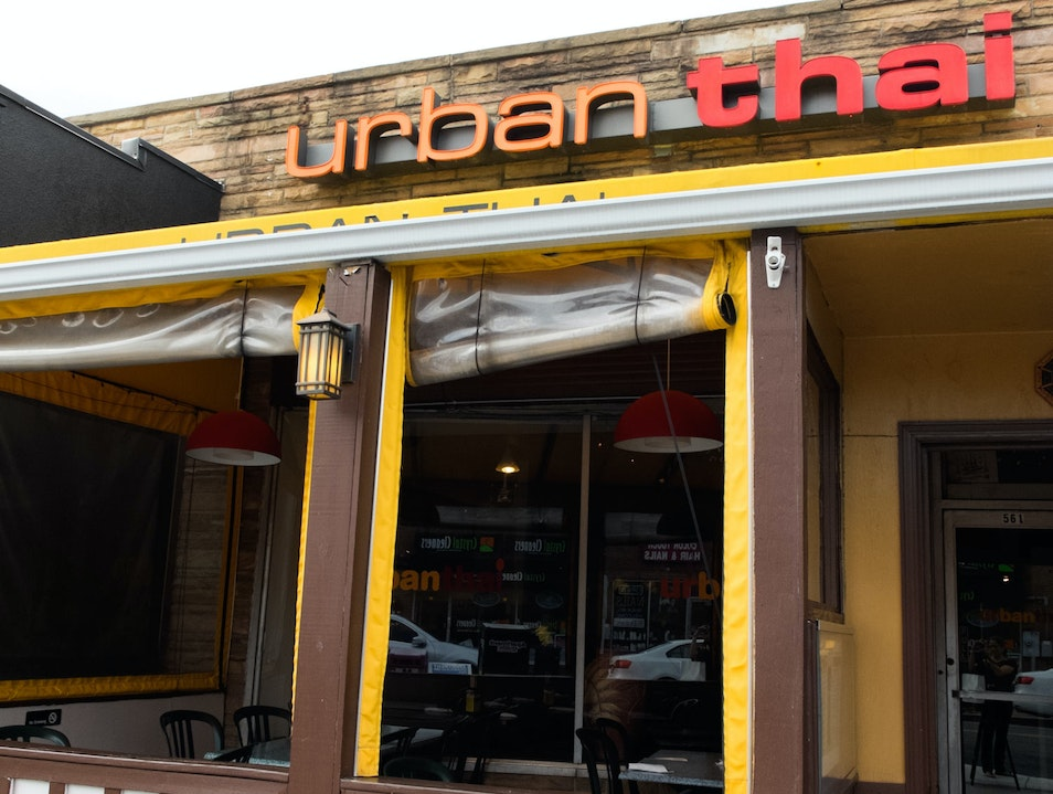 Fresh Food at Urban Thai Arlington Virginia United States