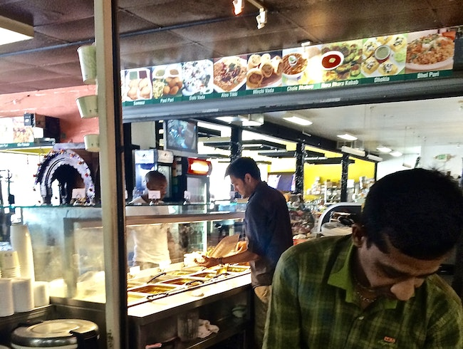 An Indian Emporium at Samosa House West