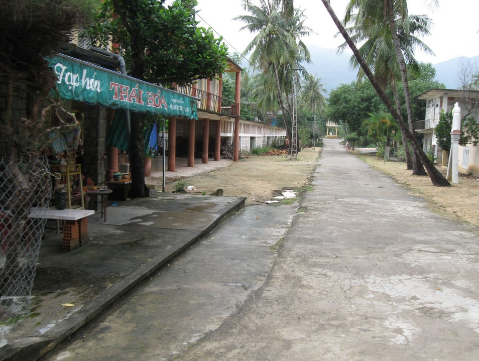 At the Leper Colony