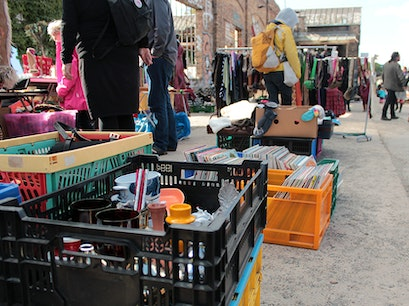 RAW Flohmarkt Berlin  Germany