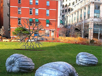 The Rose Kennedy Greenway Boston Massachusetts United States
