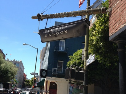 The Old Ship Saloon San Francisco California United States
