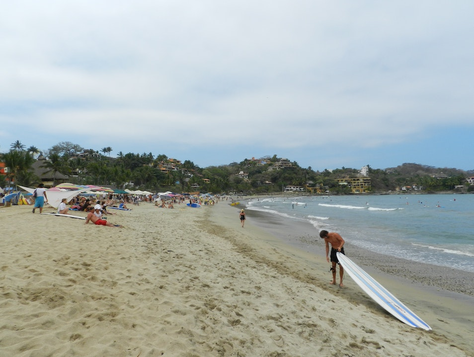 Sayulita village and beach Sayulita  Mexico