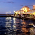 Palio Enetiko Harbour Chania  Greece