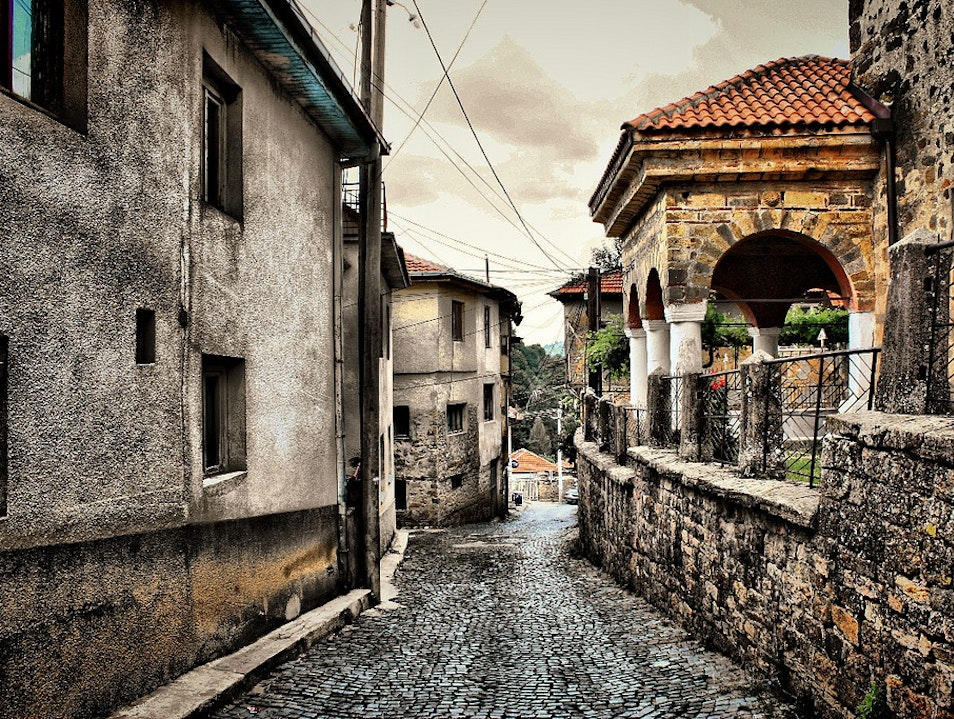 Sightseeing of medieval town of Kratovo  Kratovo  Macedonia (FYROM)