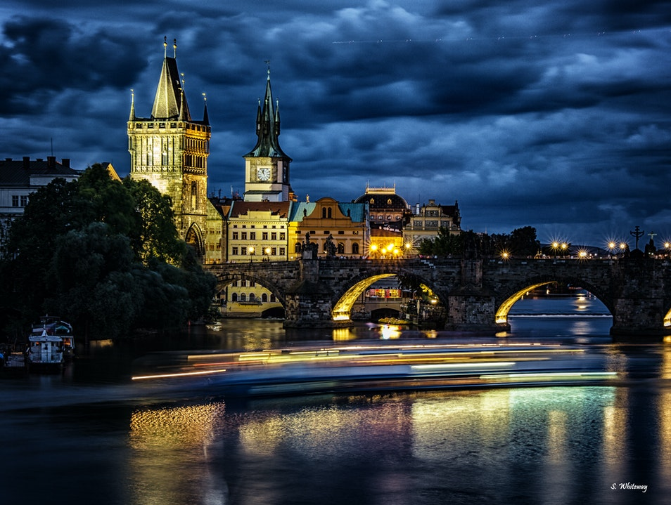 Prague a city that's Beautiful by day or night.