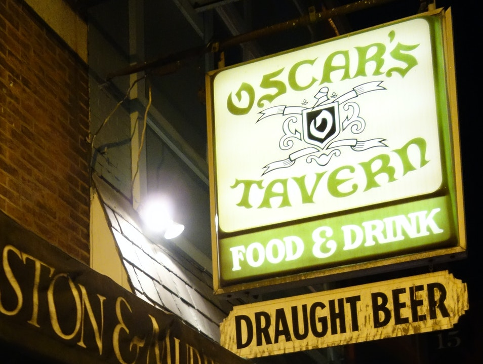 Hang with the locals for a fun time at Oscar's