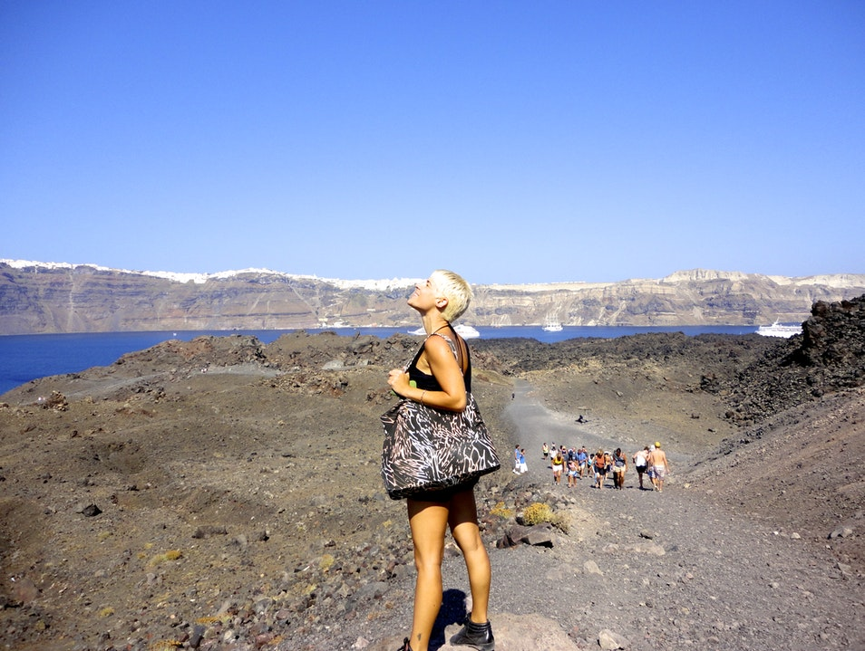 Like walking on another planet.... Santorini  Greece