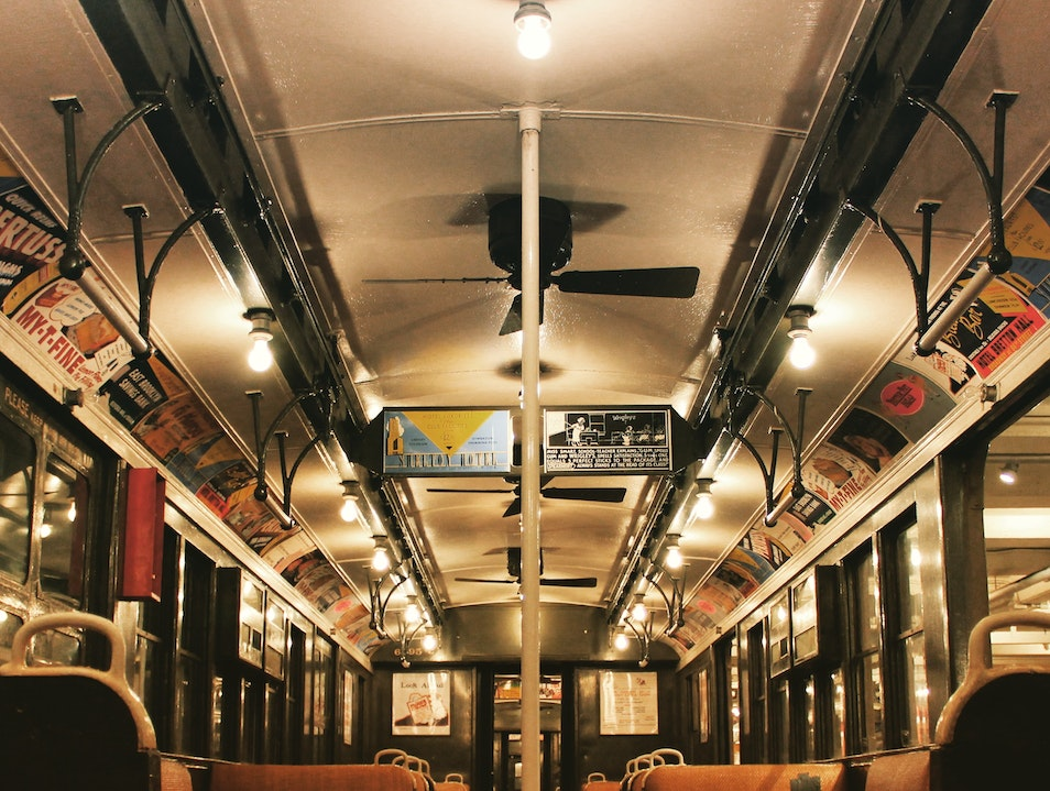 Underground and onboard with New York's antique subways