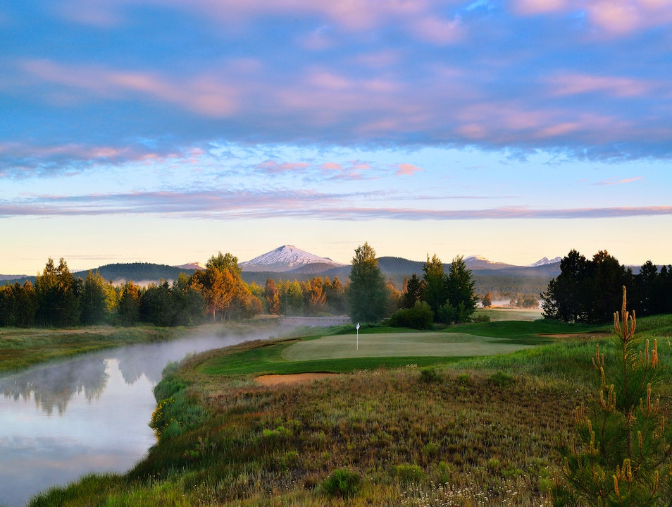 Sunriver Resort golf course Sunriver Oregon United States