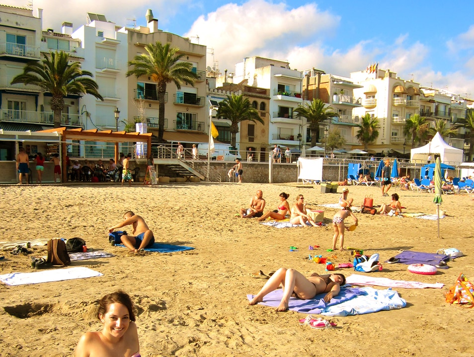 Escape the crowds and Go to Playa de Sitges! Sitges  Spain