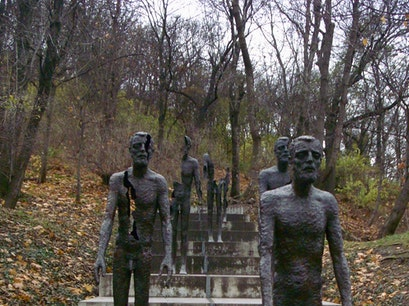 Memorial to the Victims of Communism Prague  Czech Republic