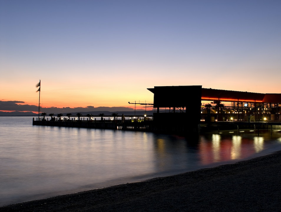 A Sunset to Remember - Mole West Neusiedl am See  Austria