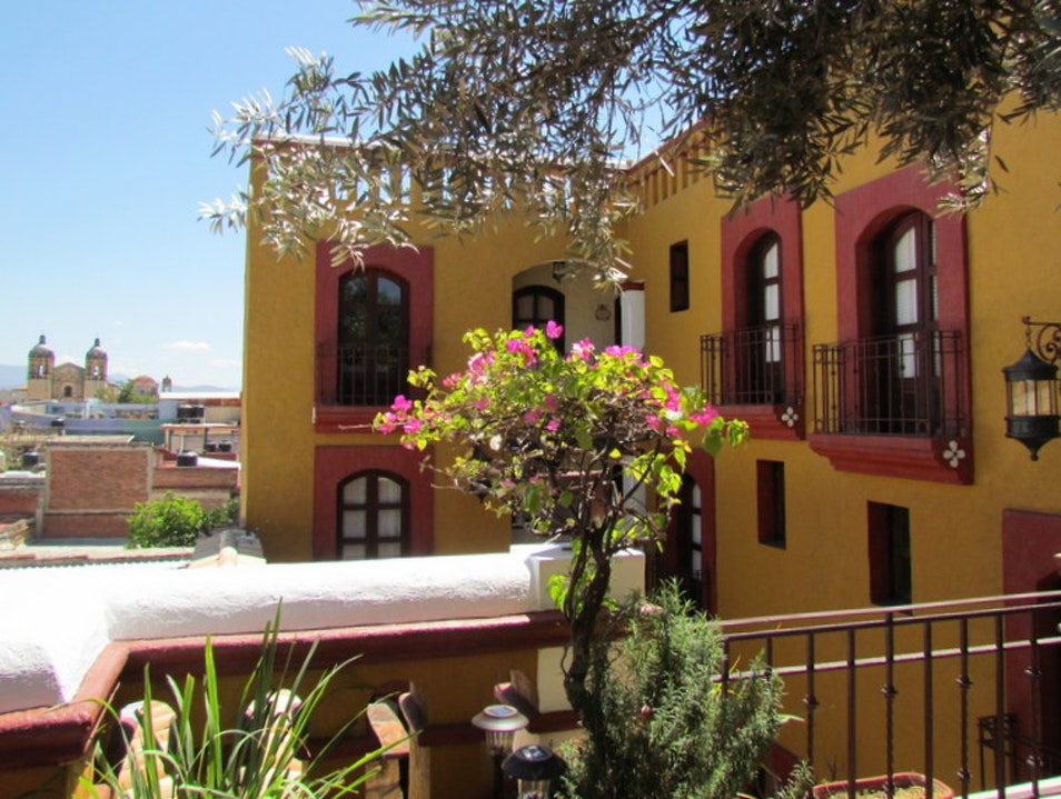 Charming Colonial-Style Hotel Oaxaca  Mexico