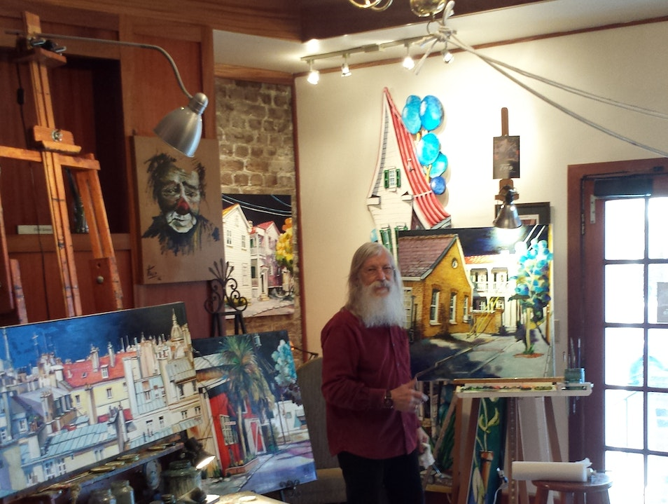 Always Meet the Artist in Residence! Charleston South Carolina United States