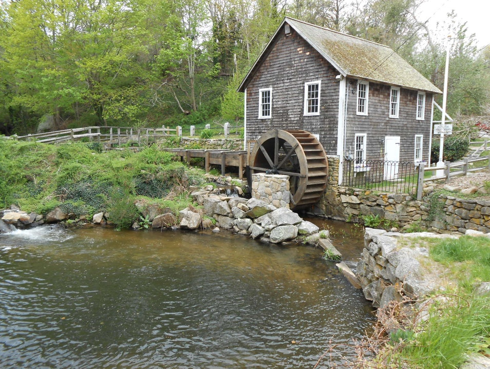 Cape Cod Historic Mill Brewster Massachusetts United States