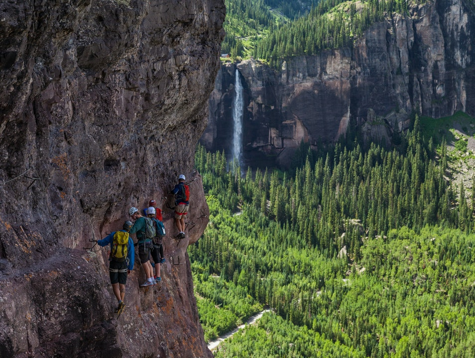 Via Ferrata Ophir Colorado United States