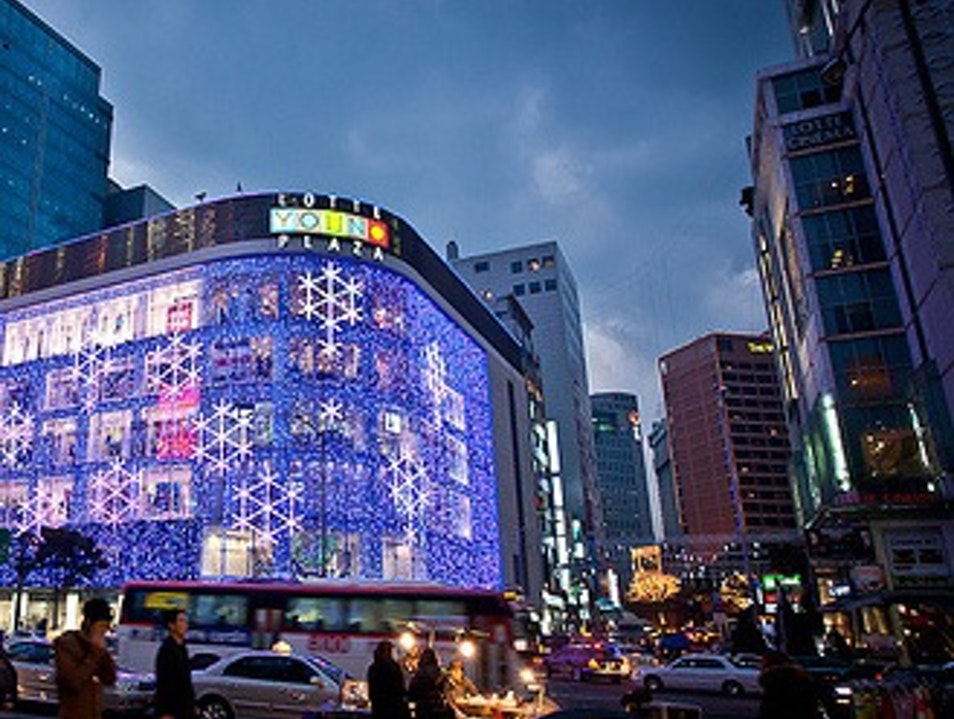 Shopping Mecca Seoul  South Korea