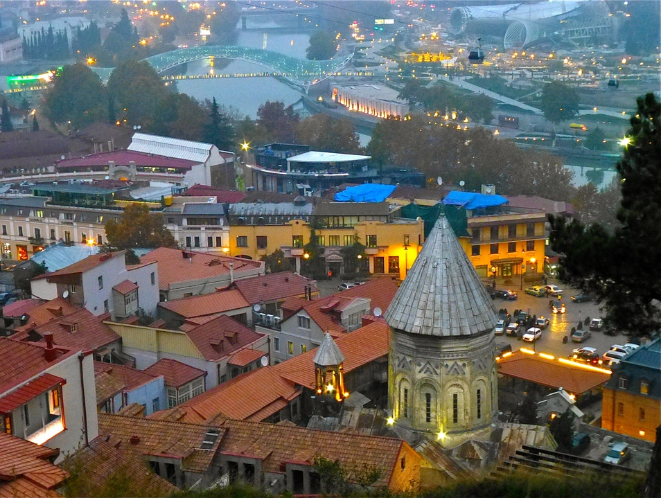 Views of the City Tbilisi  Georgia