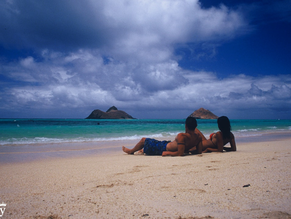 Fall in Love in God's Country Kailua Hawaii United States