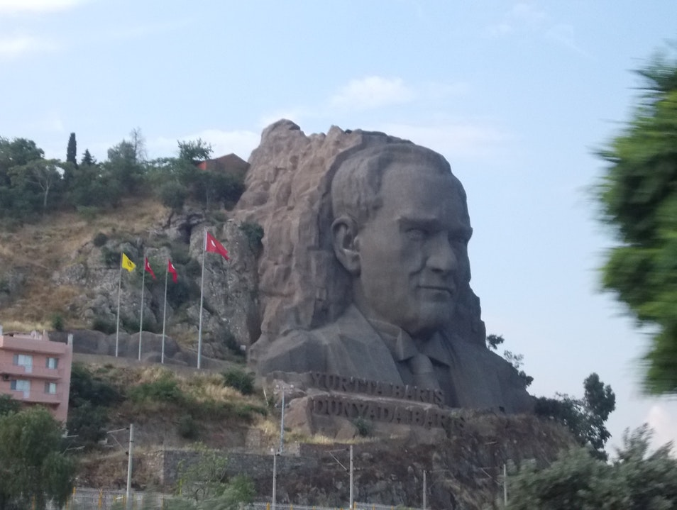 Turkey's Mount Rushmore Izmir  Turkey