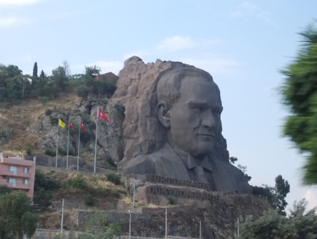 Turkey's Mount Rushmore
