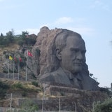 ataturk rock sculpture attraction