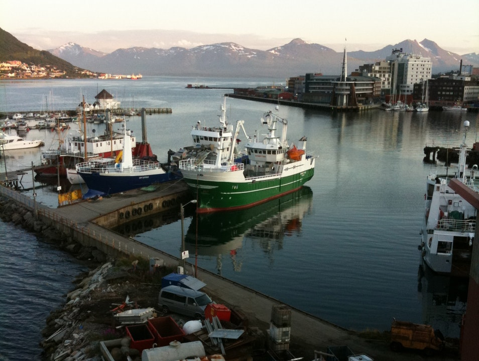 Catch your own lunch in the Norwegian Arctic Tromso  Norway