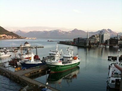 Fishing off Tromso Tromso  Norway