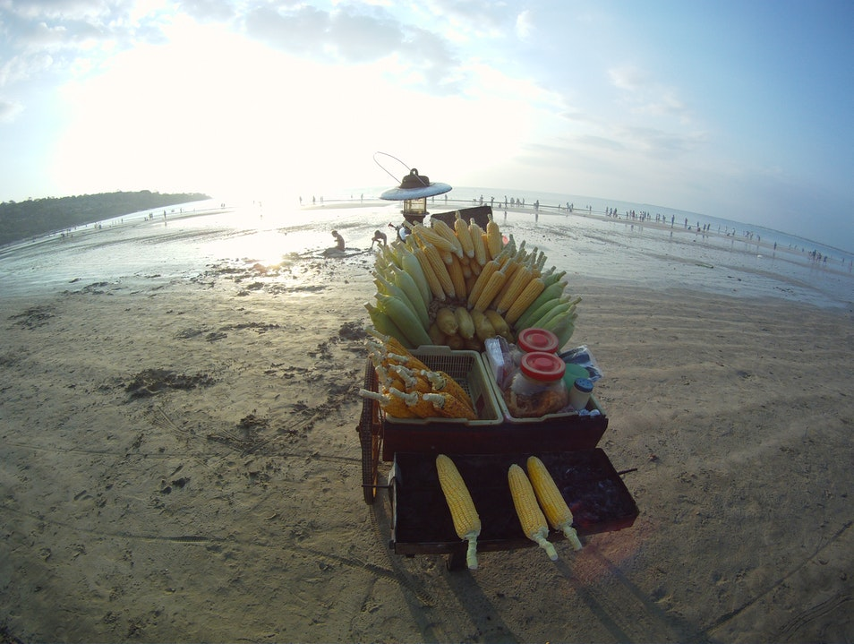 A Taste of Bali's Street (and Beach) Food Kuta Selatan  Indonesia