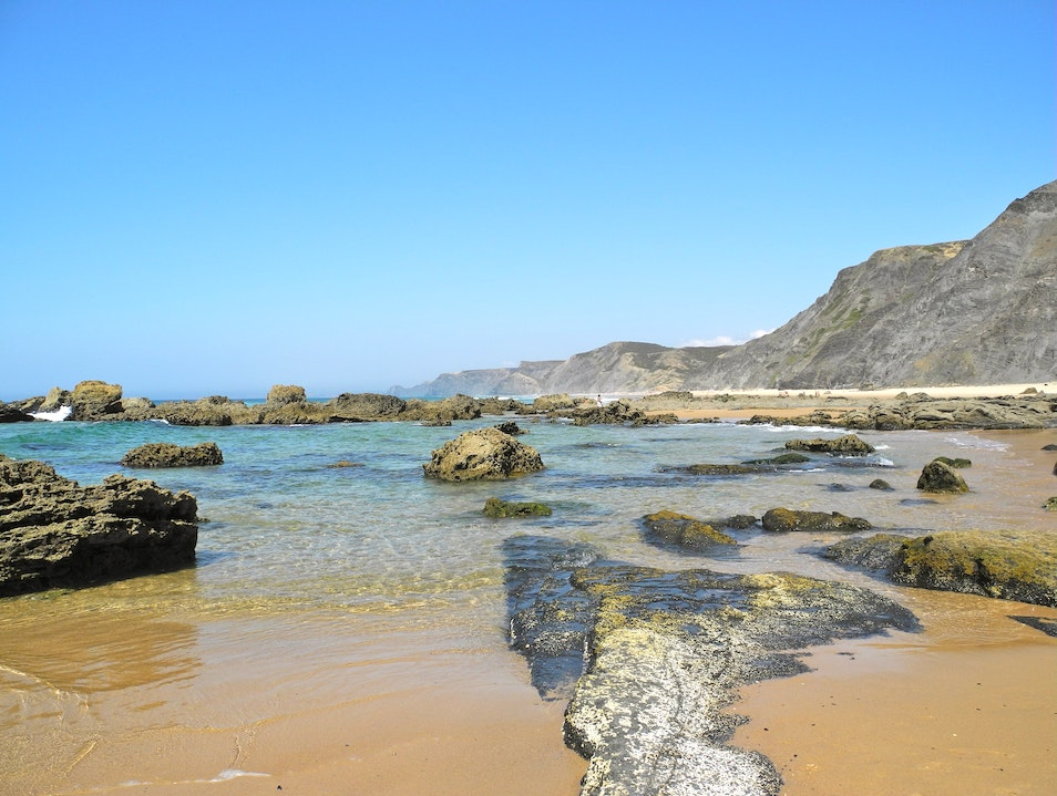 An Exotic Rocky Beach Southwest Alentejo And Vicentine Coast Natural Park  Portugal