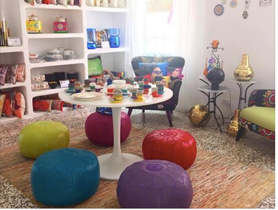 O de Rose's fun and funky lifestyle store