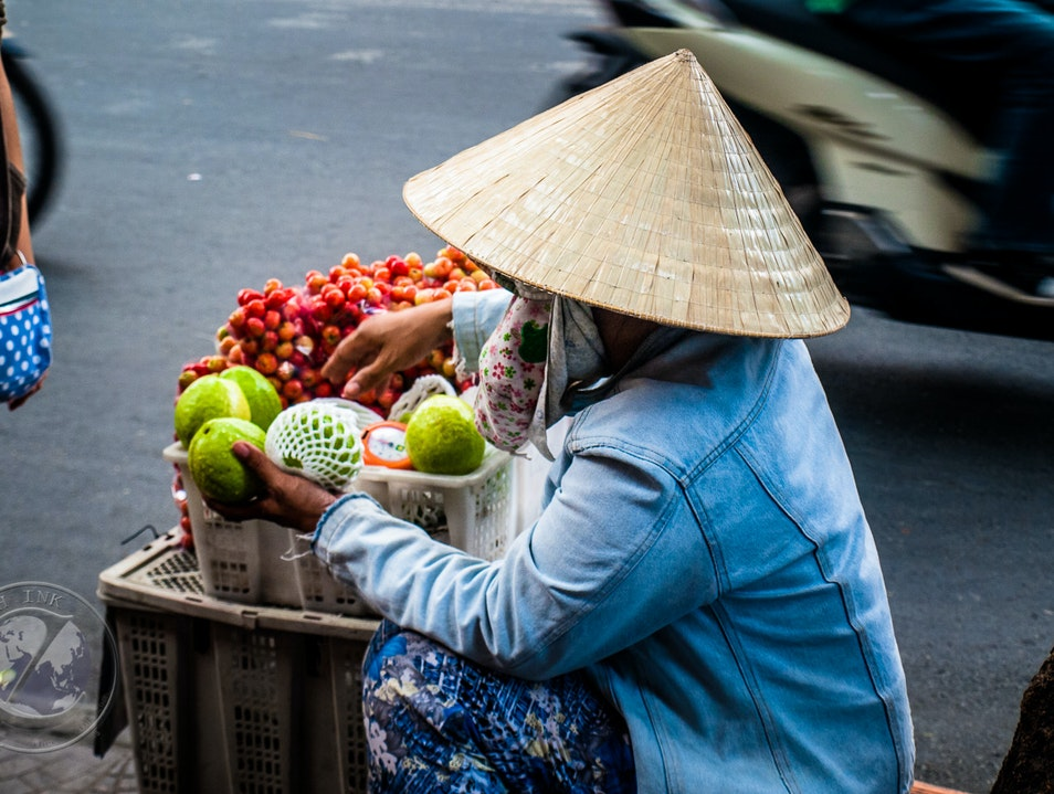 Never Far from Fruit Ho Chi Minh City  Vietnam