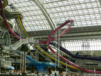 World Waterpark West Edmonton Mall Edmonton  Canada